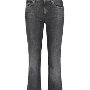 "28/31"" 7 for all mankind Charlize charcoal jeans"